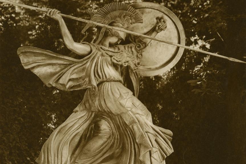 PallasAthena-Sarrabezolles sculptureTrocaderoGardens