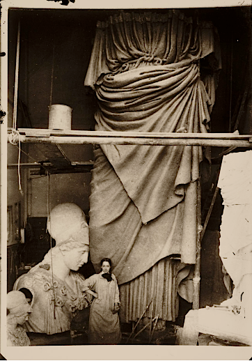 Suffragette Sculptor: an American archival glance at Enid Yandell