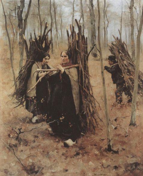 hout-sprokkelen-willem-witsen-1886