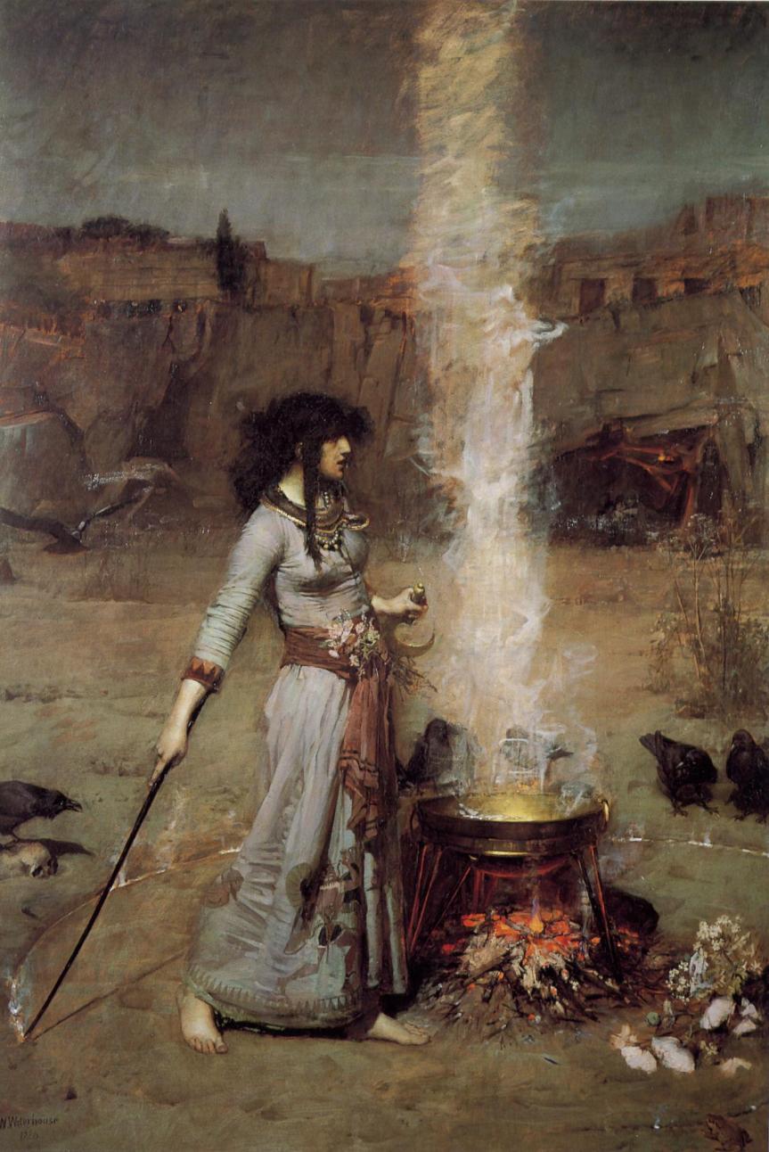john_william_waterhouse_-_magic_circle-1886