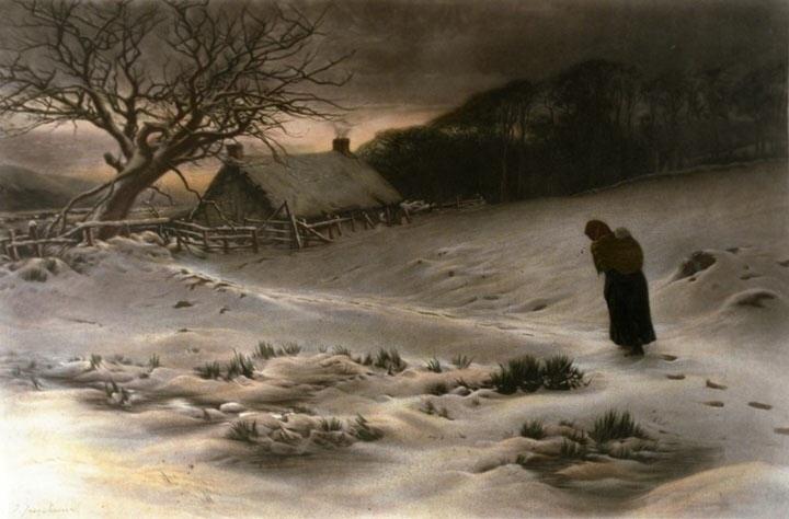 homeward-oil-on-canvas-by-joseph-farquharson-british-1846-1935