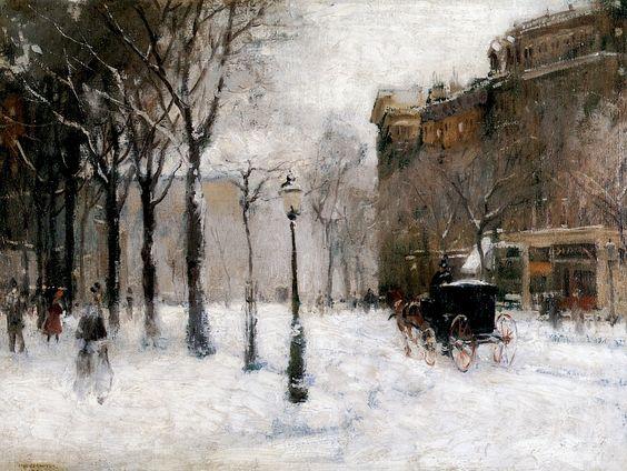 paul-cornoyer-1901-winter-in-new-york