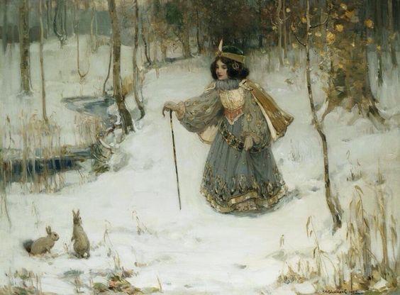 thomas-bromley-blacklock-the-snow-queen-1902