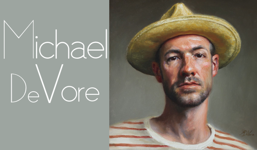 INTERVIEW with Painter Michael DeVore: finding Balance & Harmony