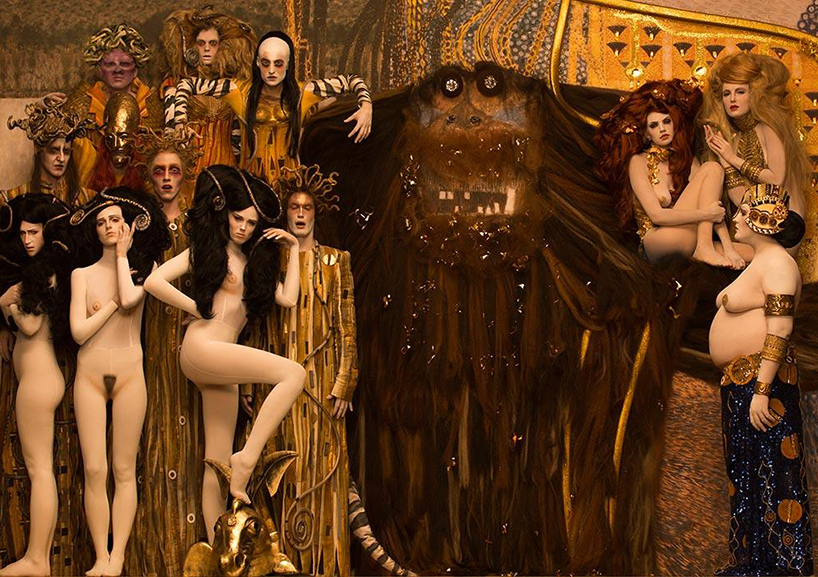 When Life Imitated Klimt, and other times Fashion appropriated old paintings to gorgeous effect