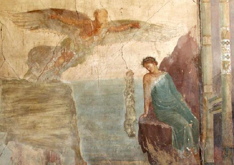 POETRY & PAINTING: Ezra Pound & a Sad Nymph from Pompeii