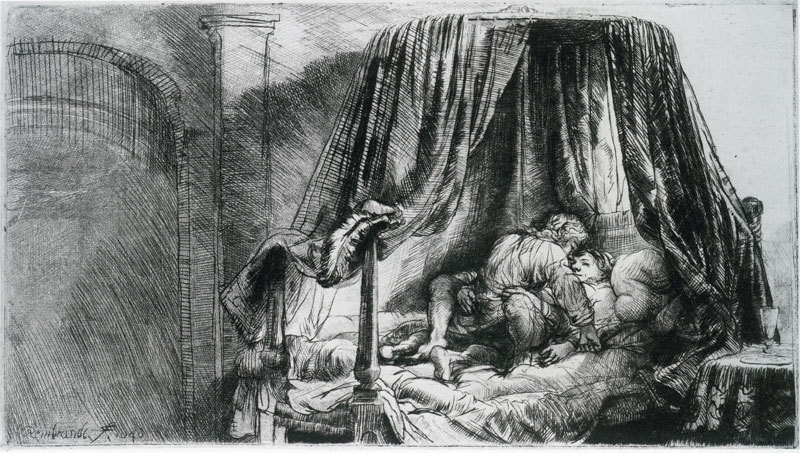 rembrandt_van_rijn_the_french_bed__1646