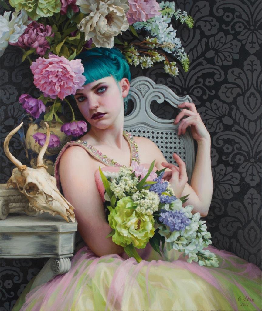 Olivia, 2015 by Adrienne Stein