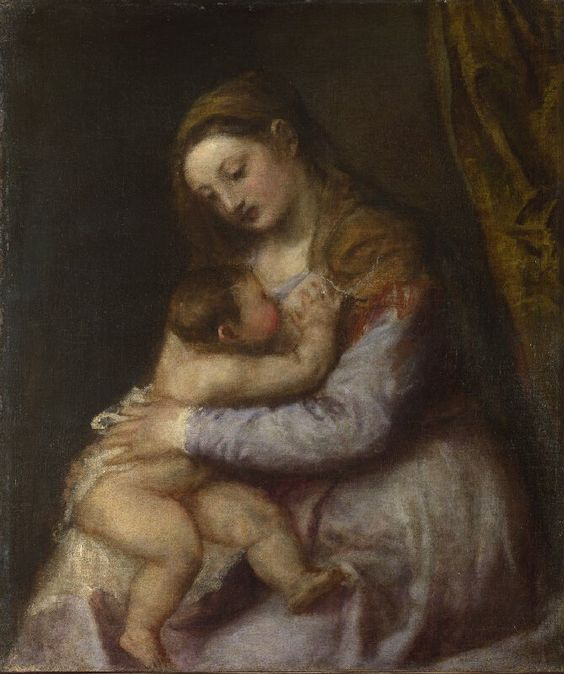 Titian, Madonna and Child, 1565-70