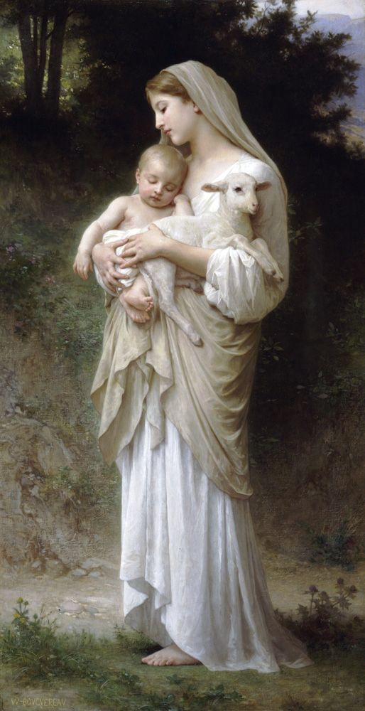 William Bouguereau - L'innocence (1893)