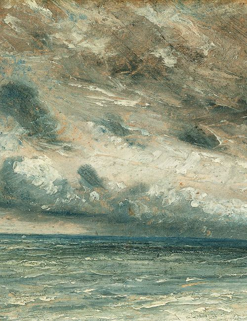 John Constable, Stormy Sea, Brighton