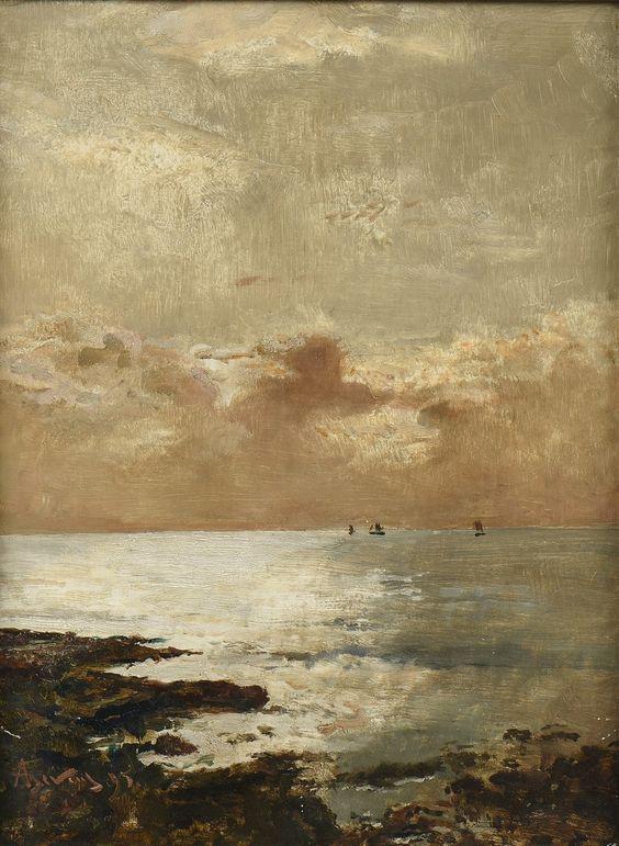 Marine, 1895, Alfred Stevens