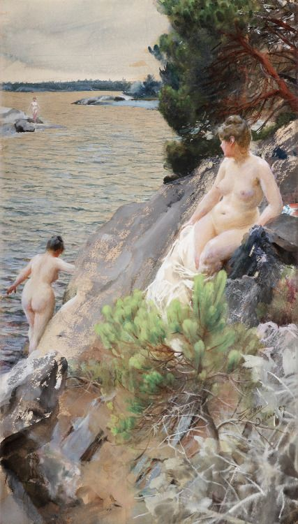 Summer, 1887, by Anders Zorn
