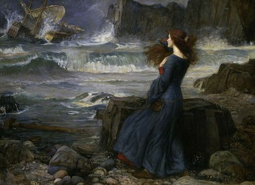Waterhouse, Miranda-The Tempest